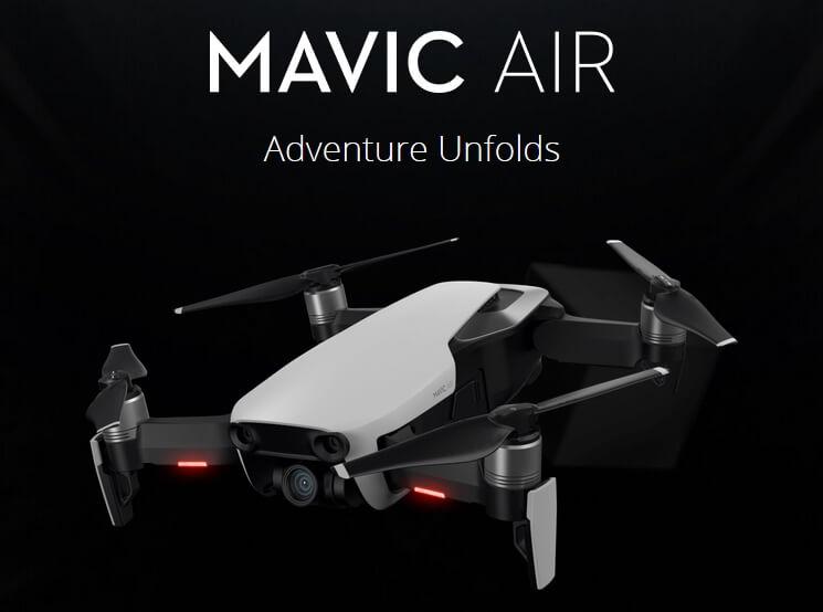 DJIが最新ドローン「Mavic Air」を発表
