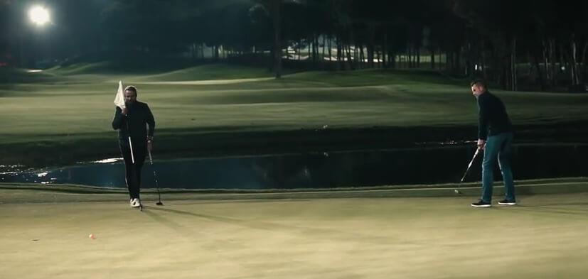 ドローンゴルフルール