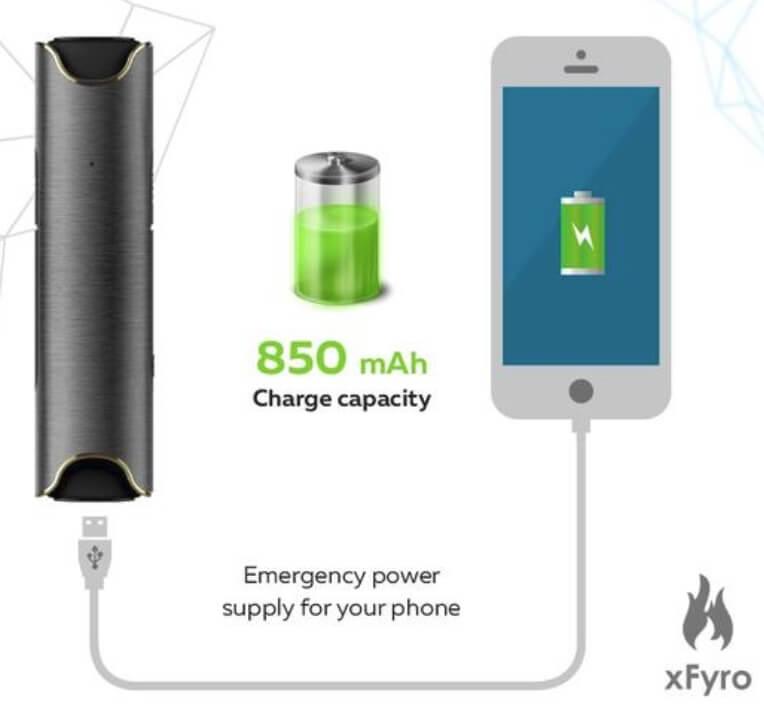xFyro充電