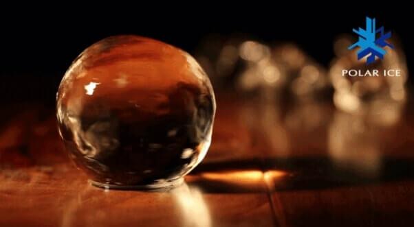 バー同様な大きい透明アイスが簡単に作れるポーラーアイストレイ