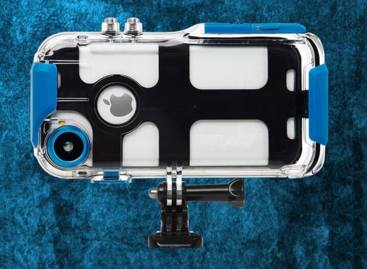 iPhoneをスポーツアクションカメラに変えるスマホケースProShot Case